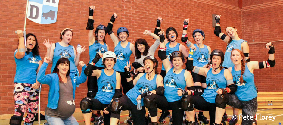 Join Oxford Roller Derby in 2015